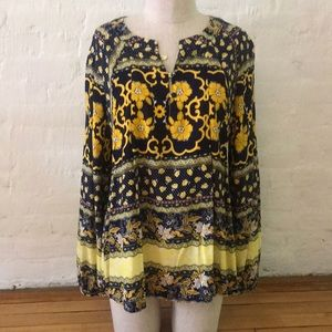 NWT Anthropologie Tylho Peasant Top Small